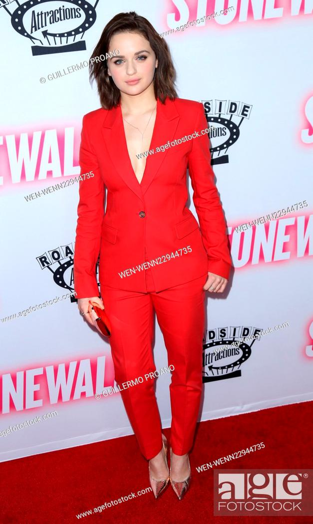 Premiere Of The Movie Stonewall At Pacific Design Center In West Hollywood Featuring Joey King Stock Photo Picture And Rights Managed Image Pic Wen Wenn22944735 Agefotostock