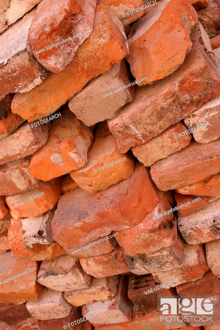 Stock Photo: arrangement, scheme, mortar, pattern, appearance.