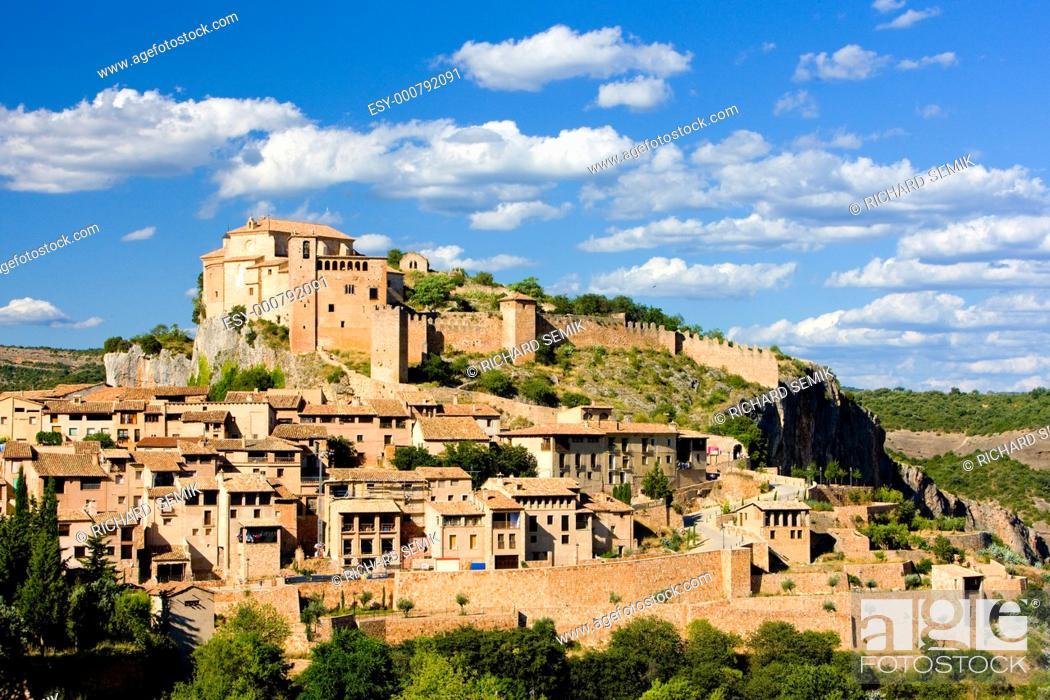 Stock Photo: Alquezar, Huesca Province, Aragon, Spain.