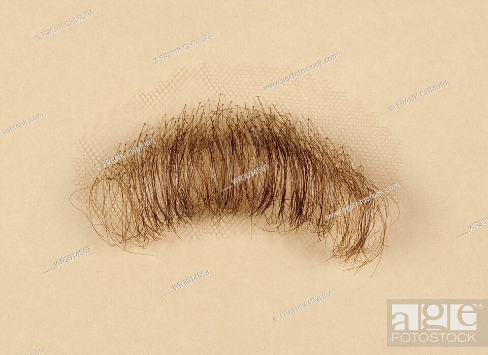 Stock Photo: Artificial Mustache for Film and Theater Production.
