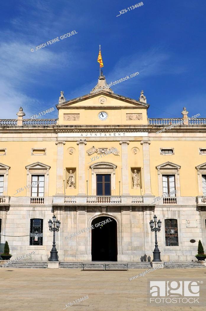 Imagen: Town hall, Plaça de la Font, Tarragona, Catalonia, Spain, Europe.