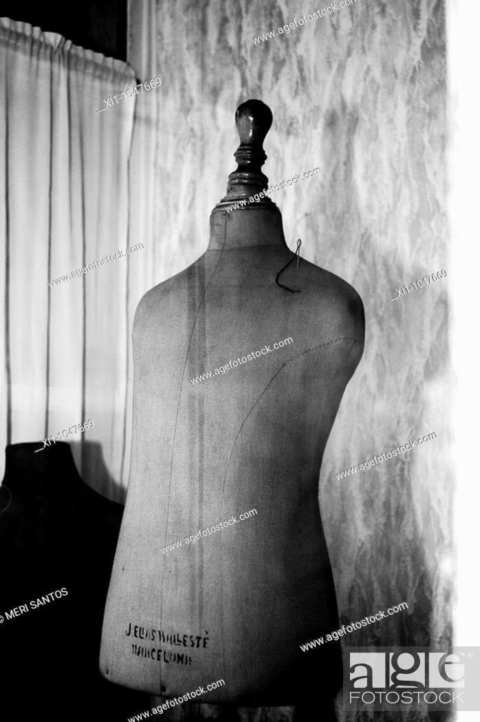 Stock Photo: Mannequin.
