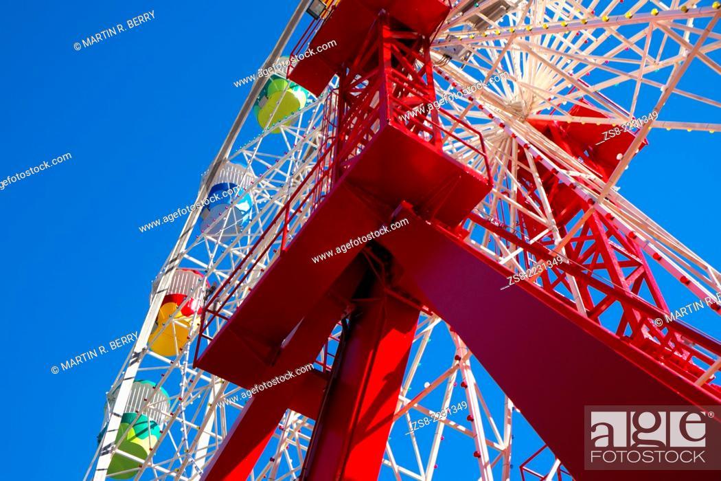 Stock Photo: Luna Park at Milsons Point, Sydney, NSW, Australia.