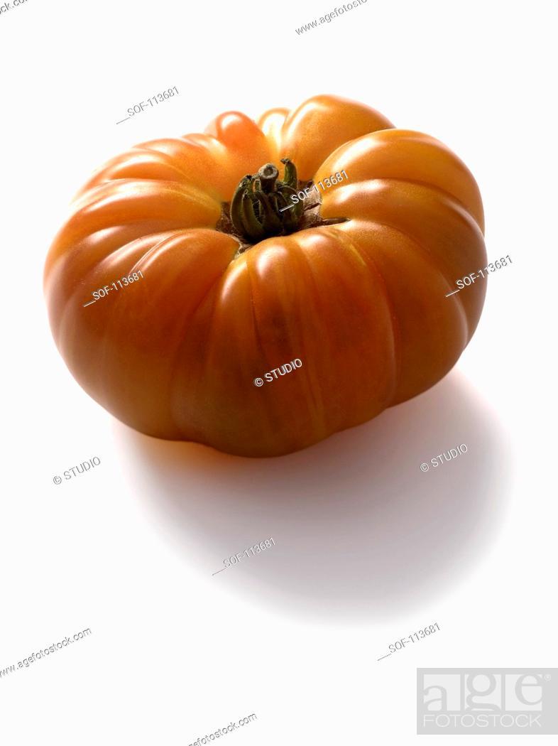 Stock Photo: Pineapple tomato.