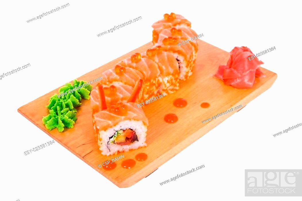 Imagen: composition of sushi: Megami.