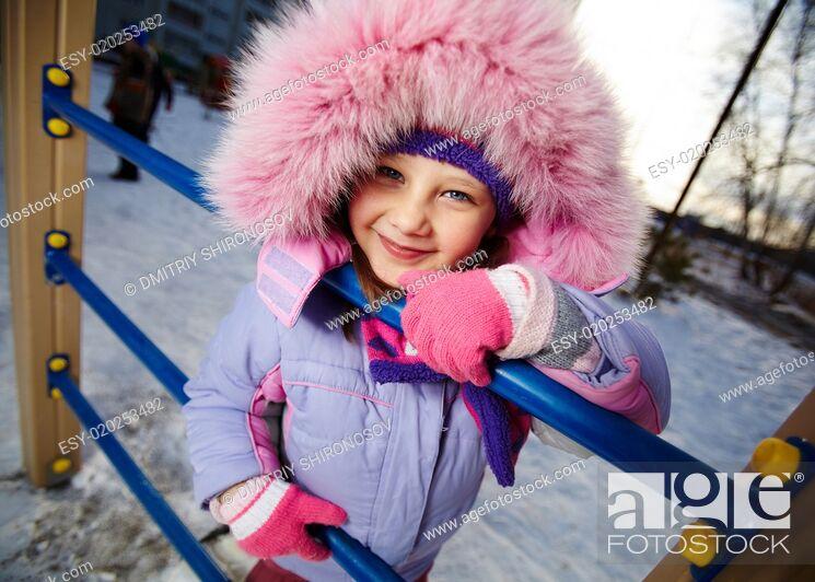 Stock Photo: Happy girl.