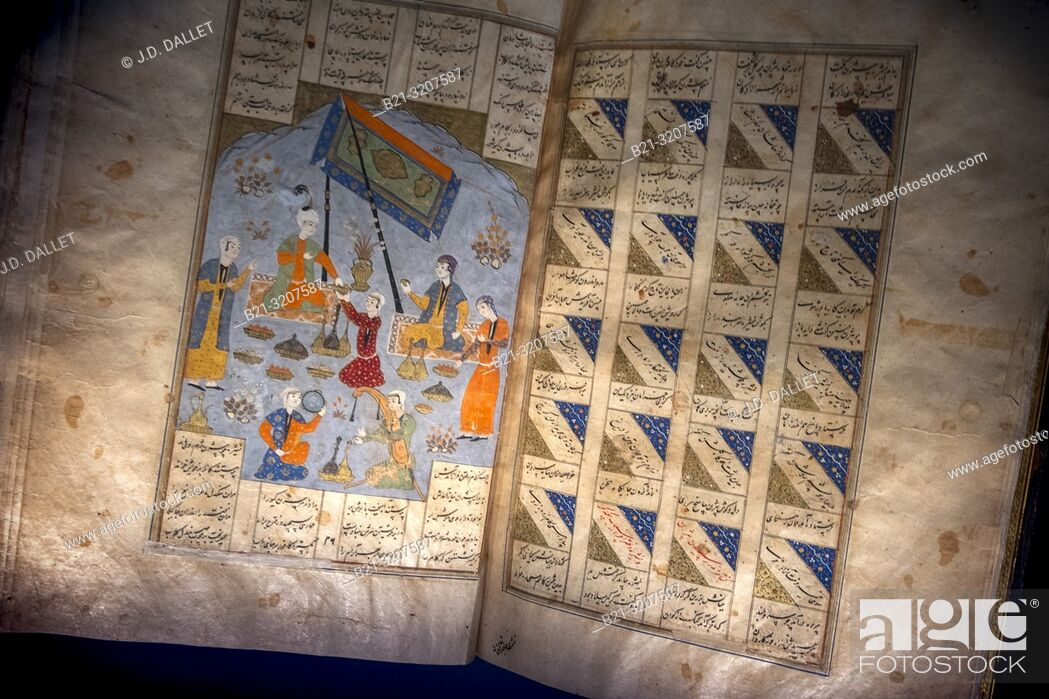 Stock Photo: Shahnameh. The Shahnameh ('The Book of Kings', also transliterated Shahnama), is a long epic poem written by the Persian poet Ferdowsi between c.