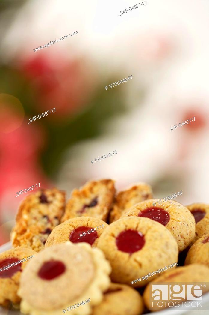 Stock Photo: Christmas cookies.