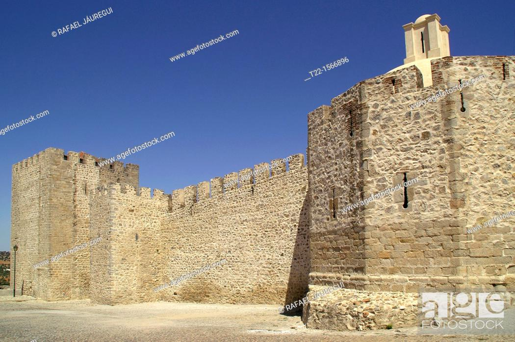Stock Photo: Elvas Portugal  Elvas Castle.
