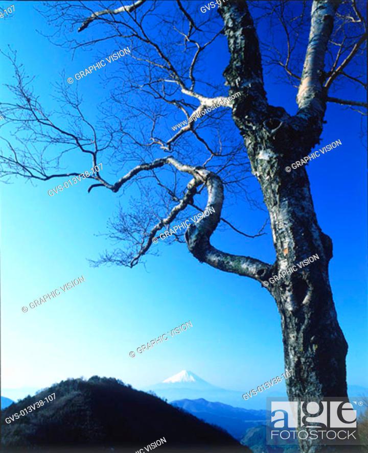 Stock Photo: Mt. Fuji, Yamanashi-ken, Japan.