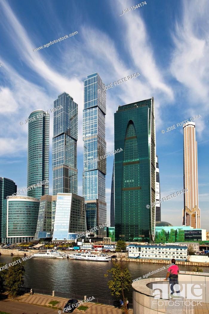 Imagen: Rusia, Moscow City , New 'Moscow City' Skyline.