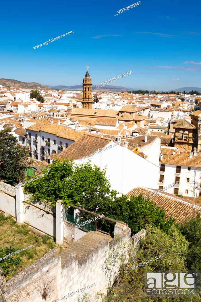 Imagen: Monumental city of Antequera. Málaga province. Andalusia, Southern Spain Europe.