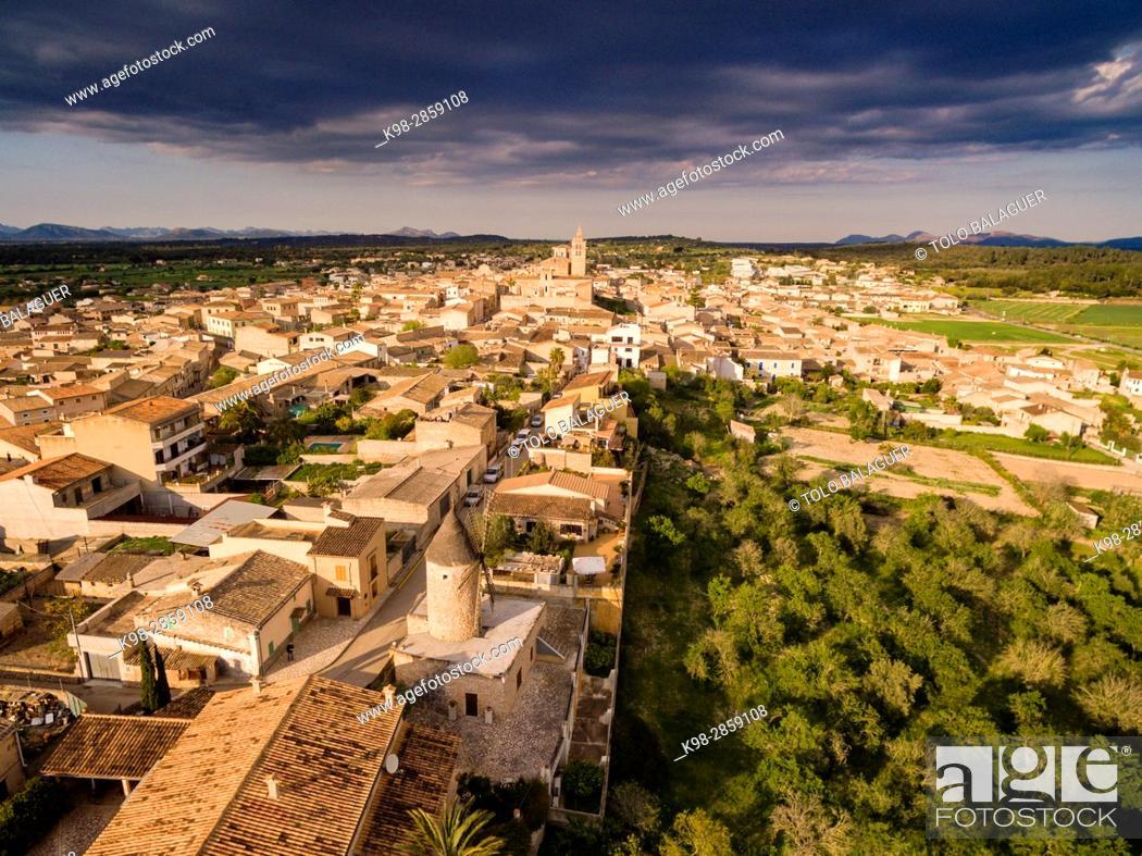 Stock Photo: Sineu, Mancomunidad del Pla, Mallorca, balearic islands, spain, europe.