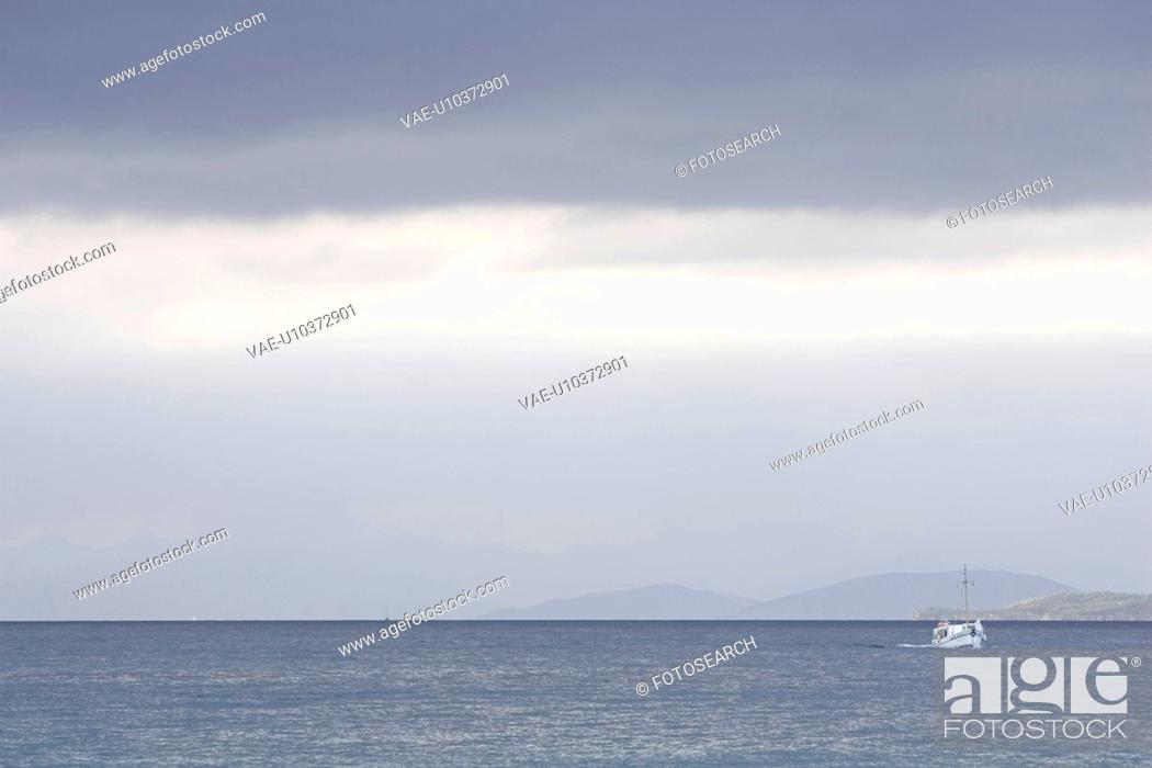 Stock Photo: Day, Distant, Horizon Over Land, Mode Of Transport.