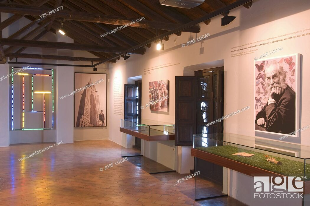 Stock Photo: Birthplace - museum of the poet Federico Garcia Lorca, Fuente Vaqueros, Granada province, Region of Andalusia, Spain, Europe.