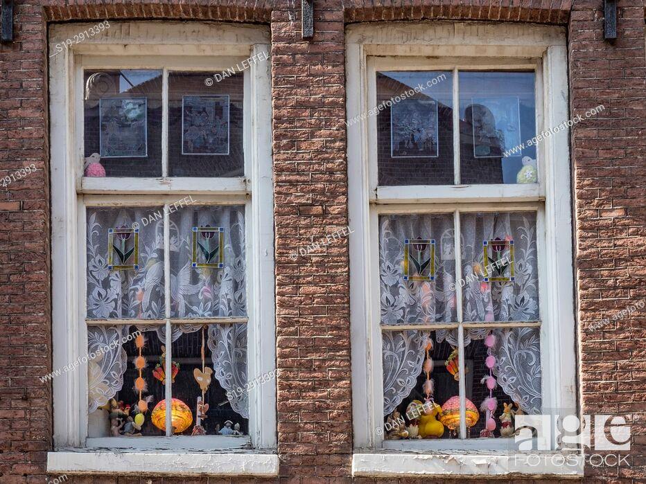 Stock Photo: Amsterdam Windows.