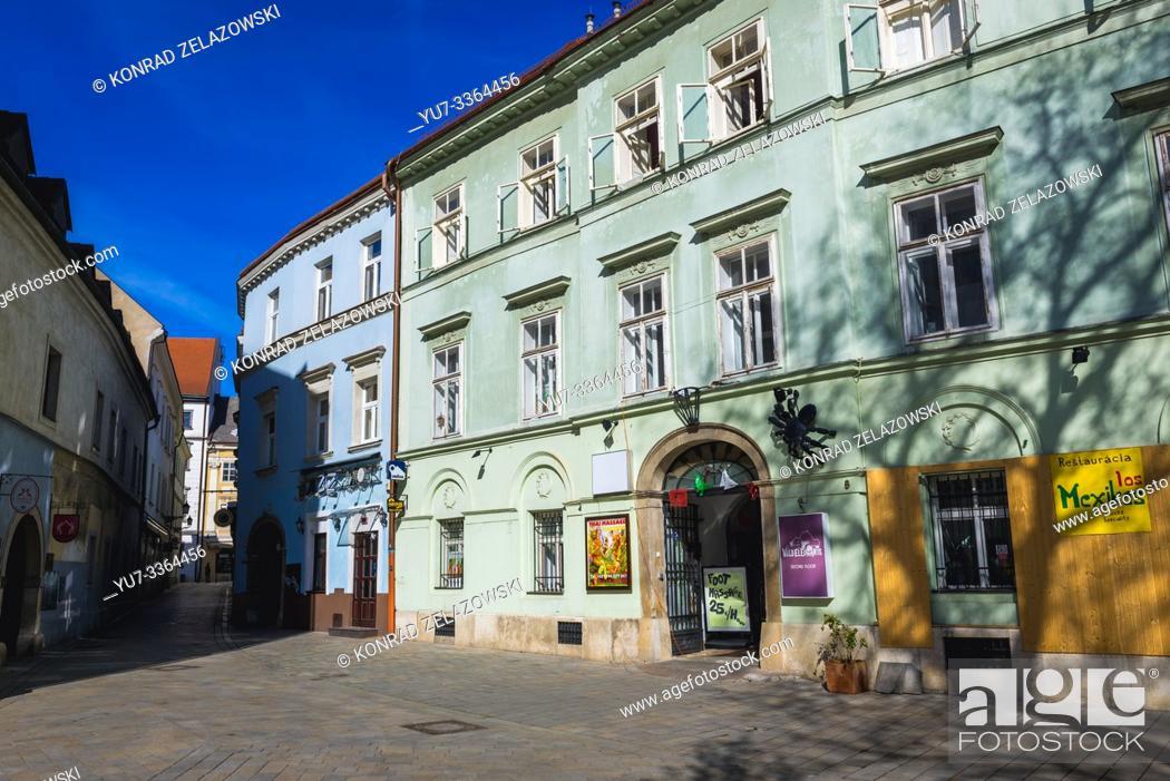Stock Photo: Old Town in Bratislava, Slovakia.