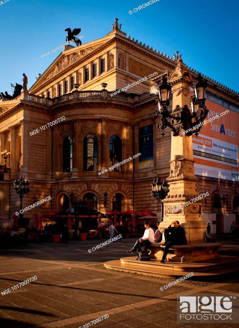Stock Photo: The Old Opera, Frankfurt Main.