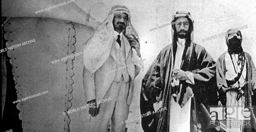 The Faisalweizmann Agreement 3 January 1919 Signed By Emir Faisal