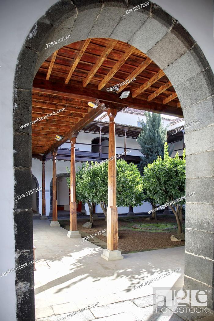 Imagen: san francisco church. santa cruz de la palma. la palma. canary islands. spain.