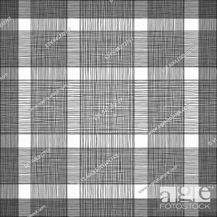 Stock Vector: horizontal and vertical black lines.