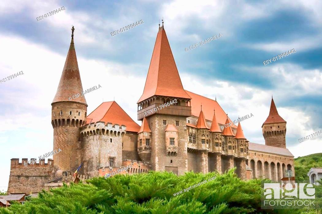 Stock Photo: Huniazi Castle.