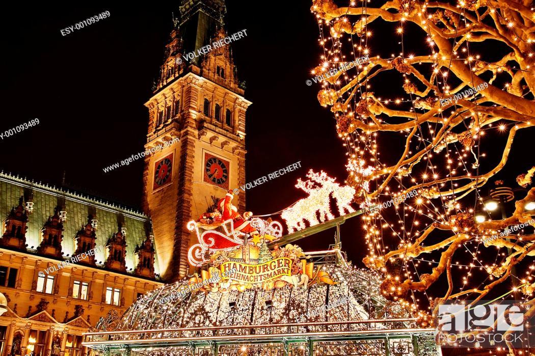 weihnachtsmarkt rathaus hamburg