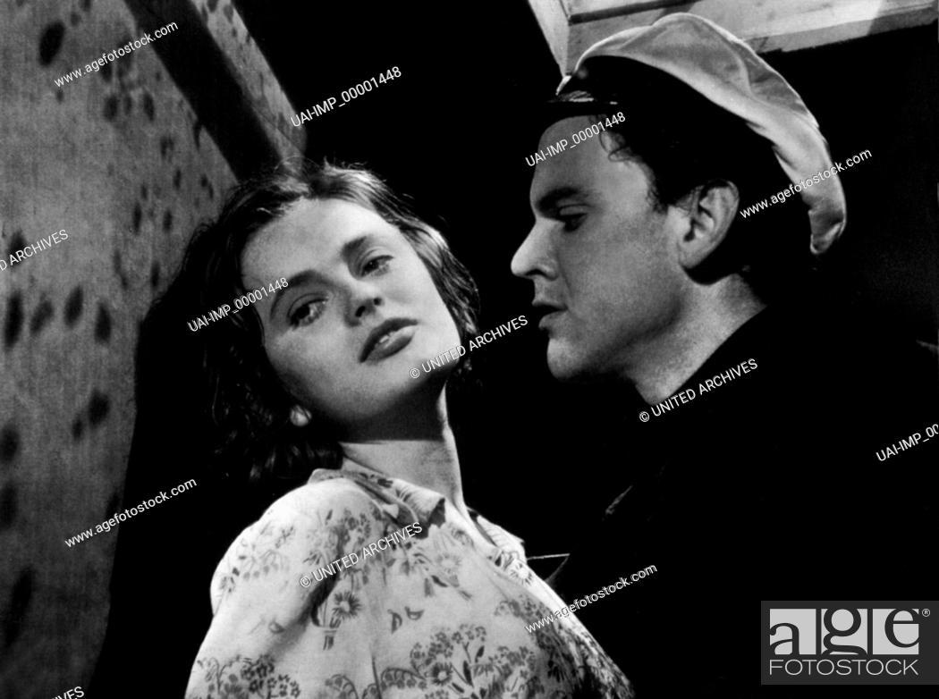 Stock Photo: Sie tanzte nur einen Sommer, (HON DANSADE EN SOMMAR) SWE 1951 s/w, Regie: Arne Mattsson, ULLA JACOBSSON, FOLKE SUNDQUIST.