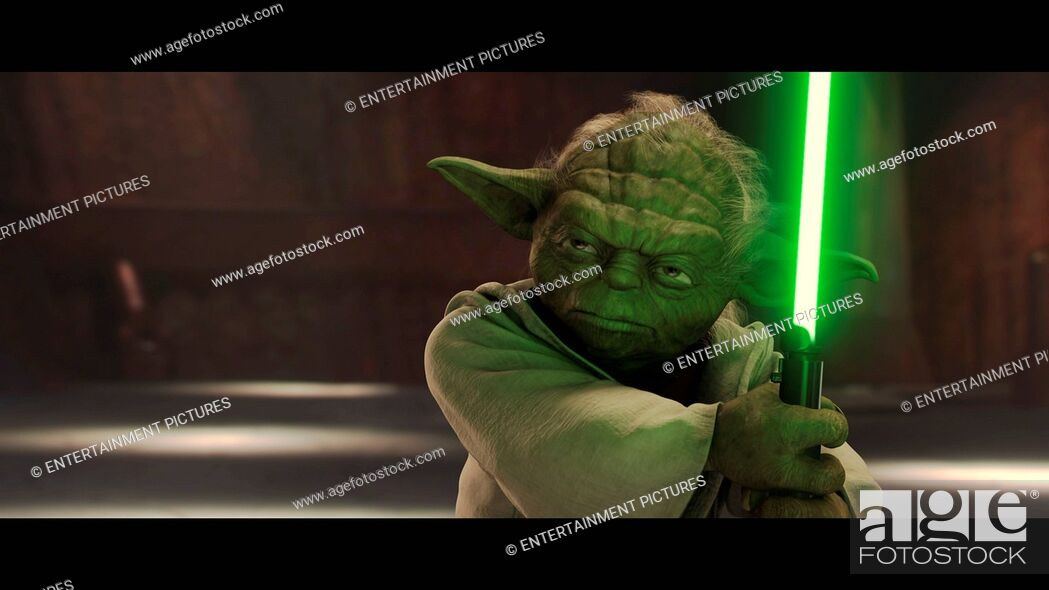 Imagen: RELEASE DATE: May 16, 2002. MOVIE TITLE: Star Wars: Episode II-Attack of the Clones. STUDIO: Lucasfilm. PLOT: Ten years after the 'Phantom Menace' threatened.