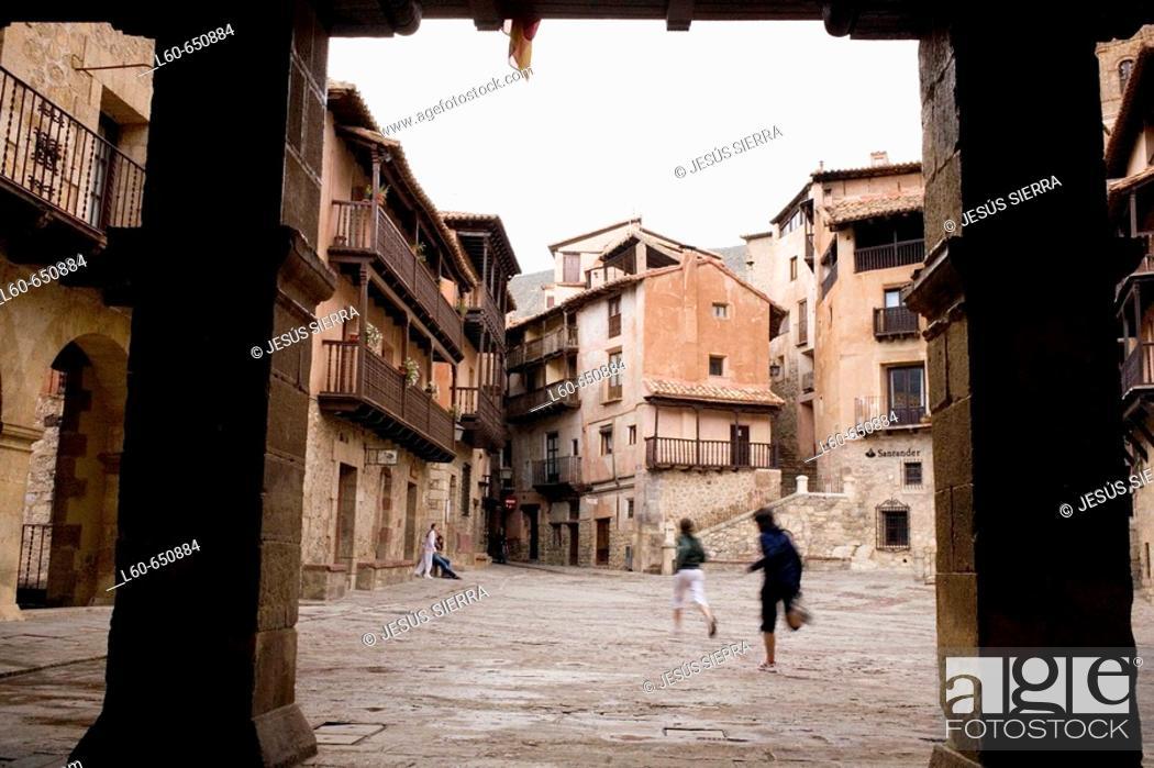 Stock Photo: Albarracin. Teruel. Spain.