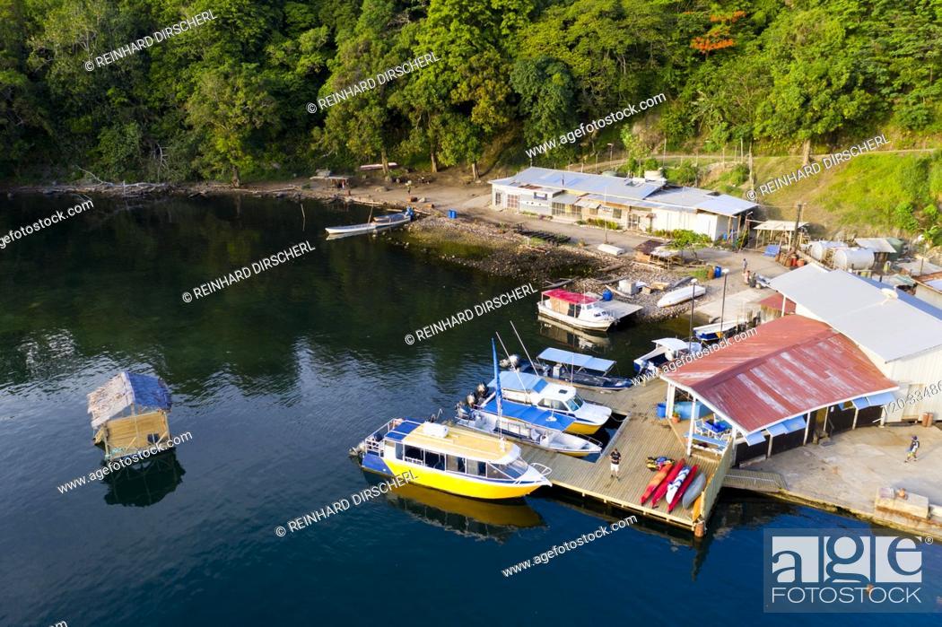 Stock Photo: Tufi Harbor, Cape Nelson, Oro Province, Papua New Guinea.