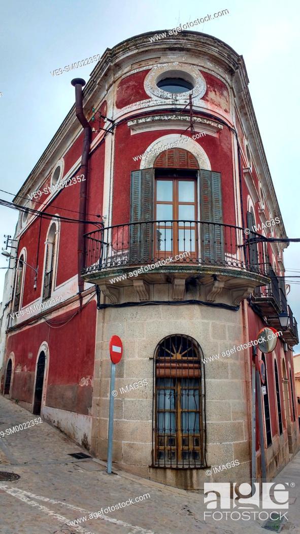 Stock Photo: Trujillo, Cáceres province, Spain.