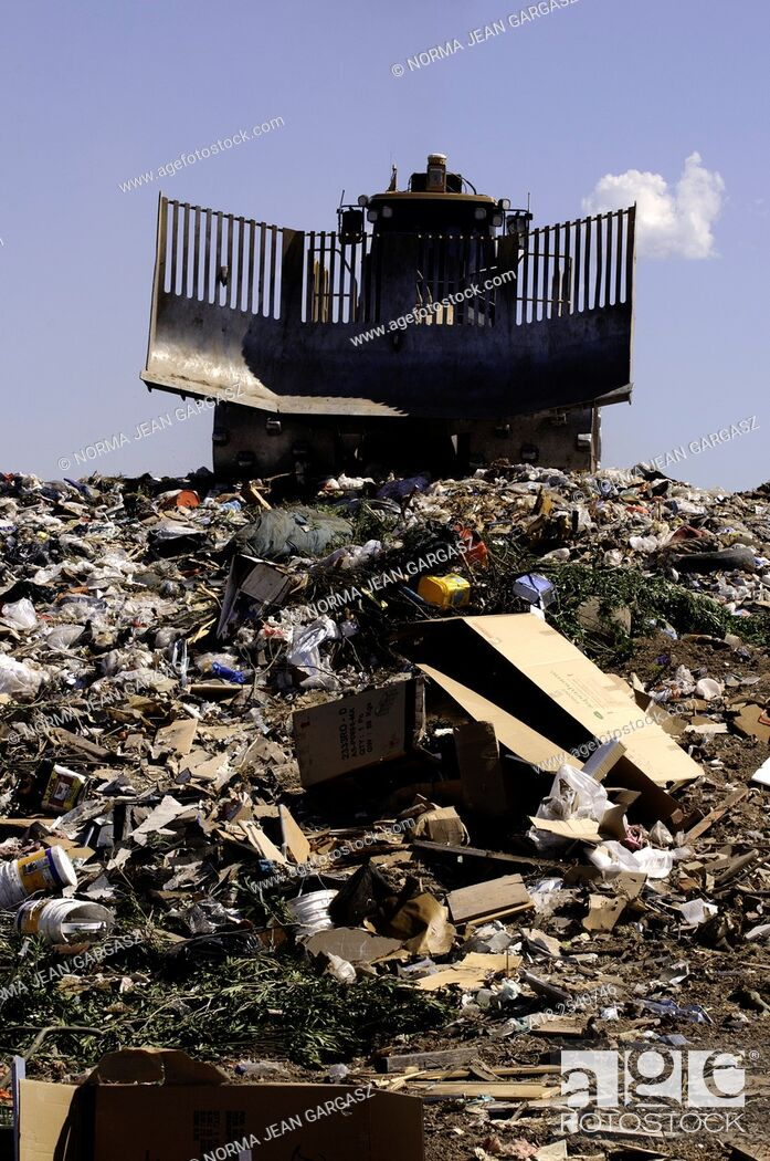 Stock Photo: About 50% of the residential refuse deposited for disposal at the City of Tucson's Los Reales Landfill could be recycled, according to spokesperson.