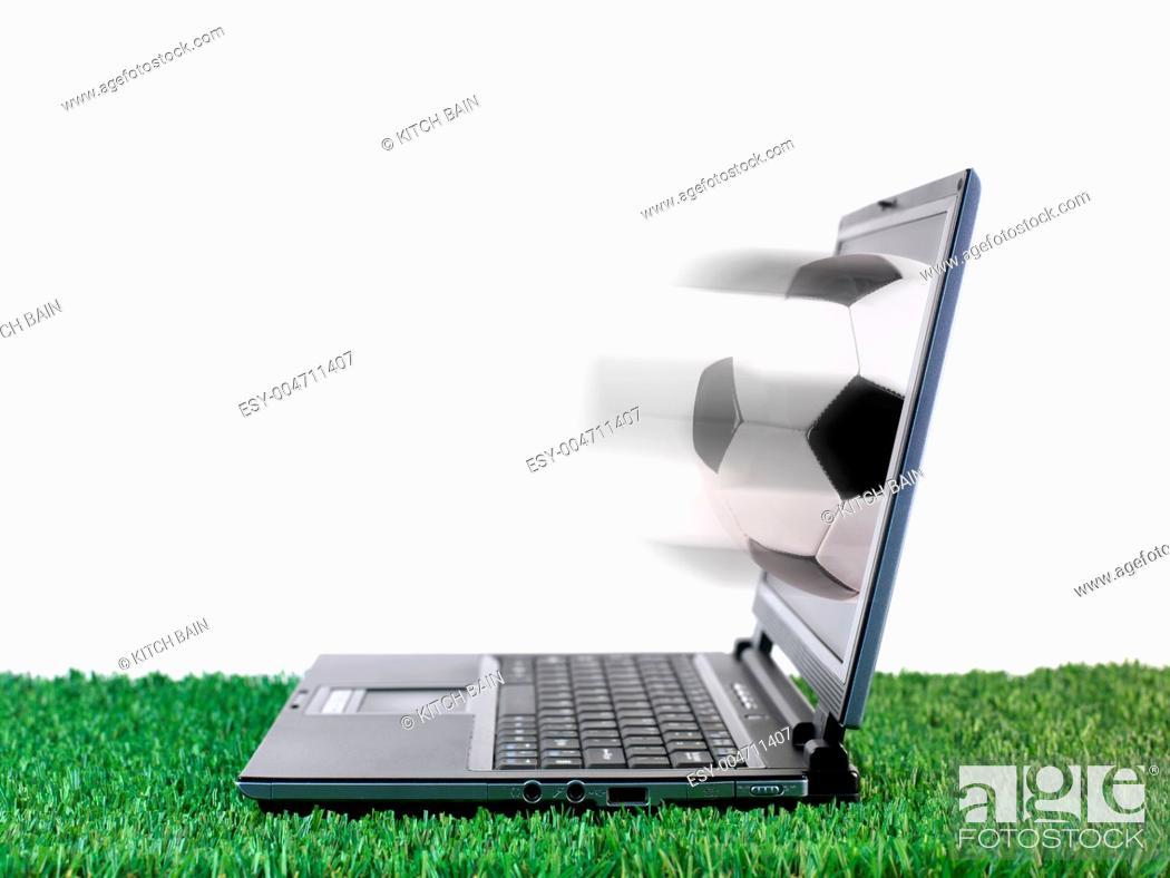 Stock Photo: Laptop.