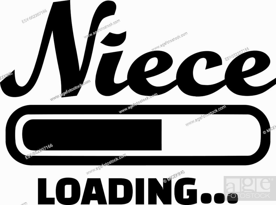 Stock Vector: Niece loading.