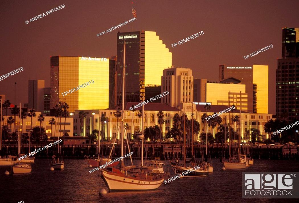Stock Photo: San Diego, California, USA.