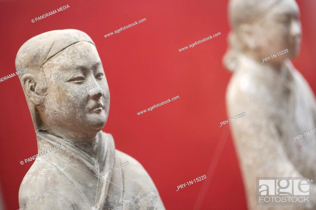 Stock Photo: Stone statues, Xi An.