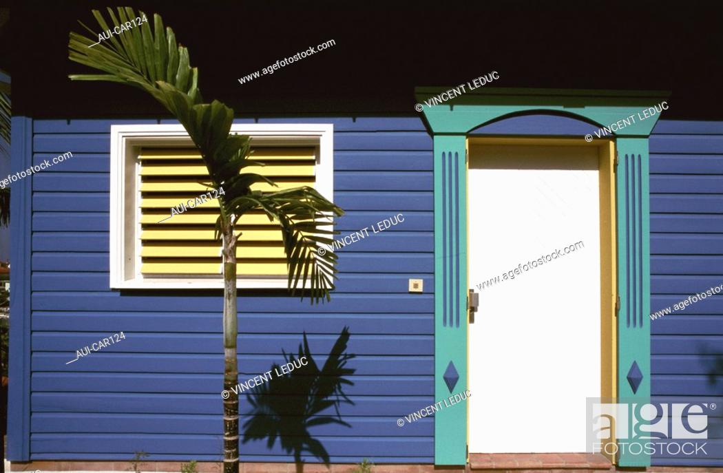 Stock Photo: French Caribbean - Caribbean Islands - Saint Barthelemy.