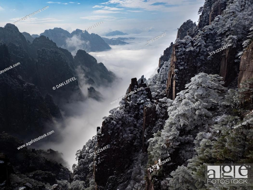 Imagen: China Yellow Mountains.