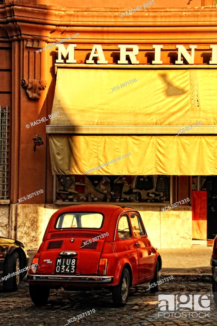 Imagen: Street scene in the neighborhood near Vatican City.