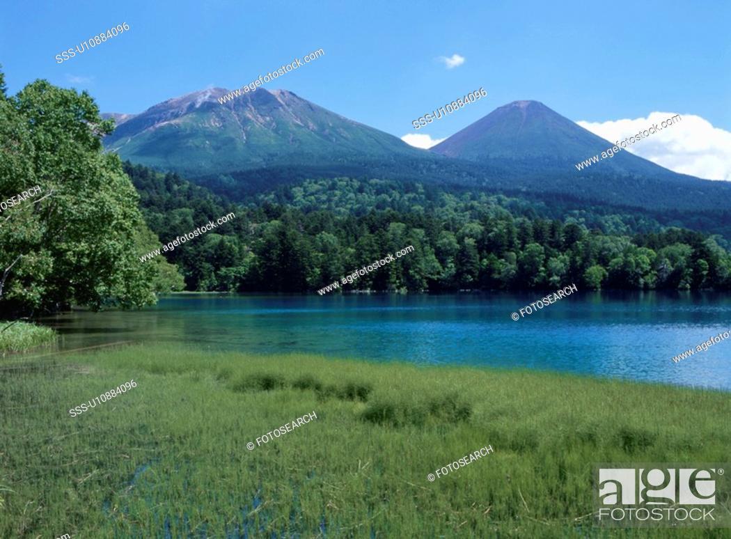 Stock Photo: Lake Onneto.