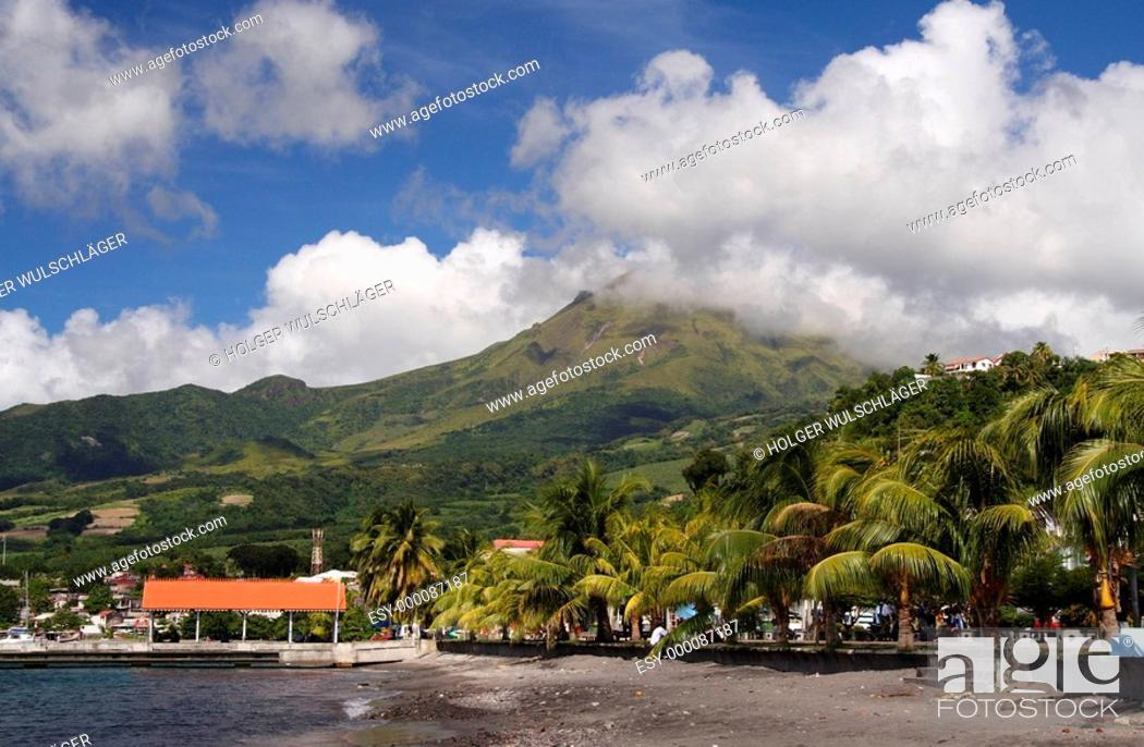 Stock Photo: Volcano Beach.
