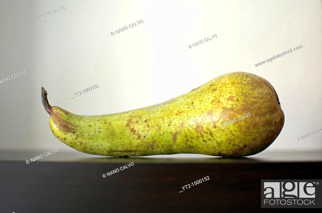 Stock Photo: Still Food: Pear.