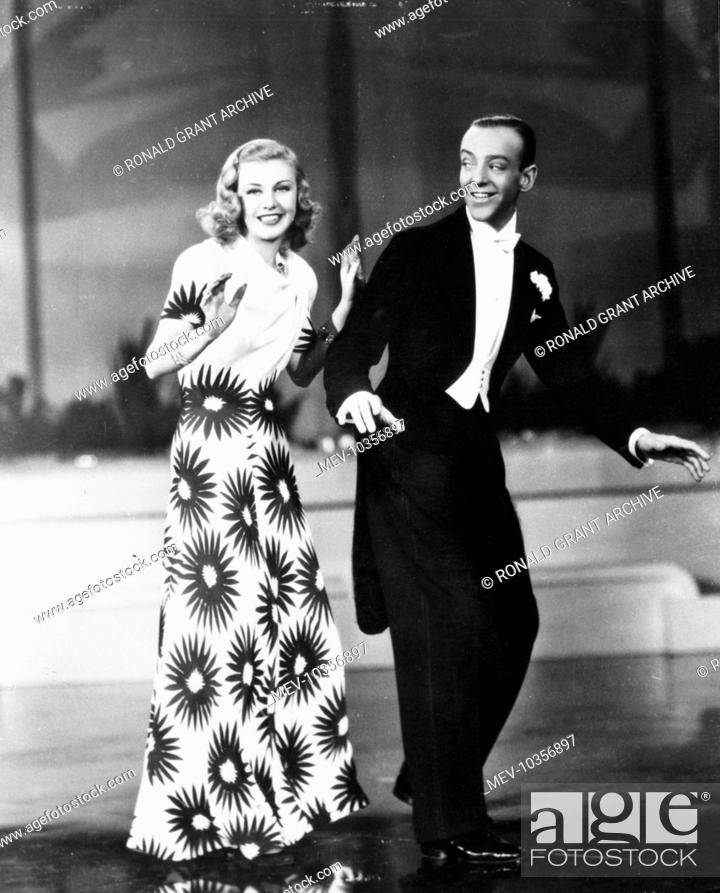 Shall We Dance Ginger Rogers Fred Astaire Stock Photo Picture And Rights Managed Image Pic Mev 10356897 Agefotostock