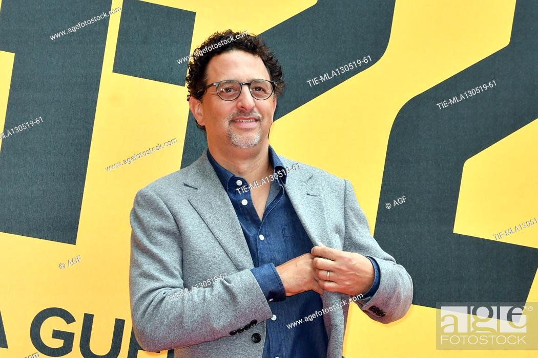 Stock Photo: Grant Heslov during 'Catch-22' TV show photocall, Rome, Italy - 13 May 2019.