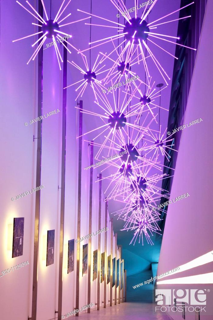 Stock Photo: Btek, Centre for the Interpretation of Technology, Technology Park of Bizkaia, Zamudio, Euskadi, Spain.