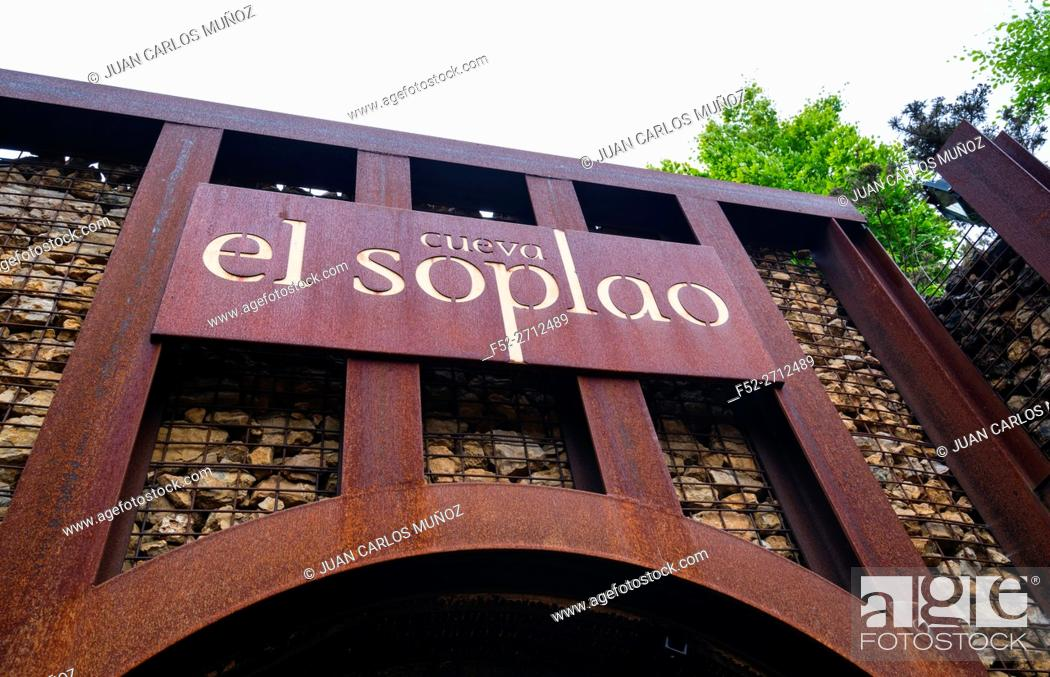Stock Photo: El Soplao is a cave located in the municipalities of Rionansa, Valdáliga and Herrerías, Cantabria, Spain, Europe.