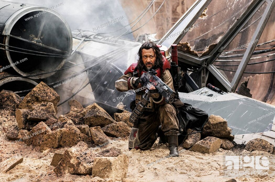 Imagen: Rogue One: A Star Wars Story. Baze Malbus (Jiang Wen).