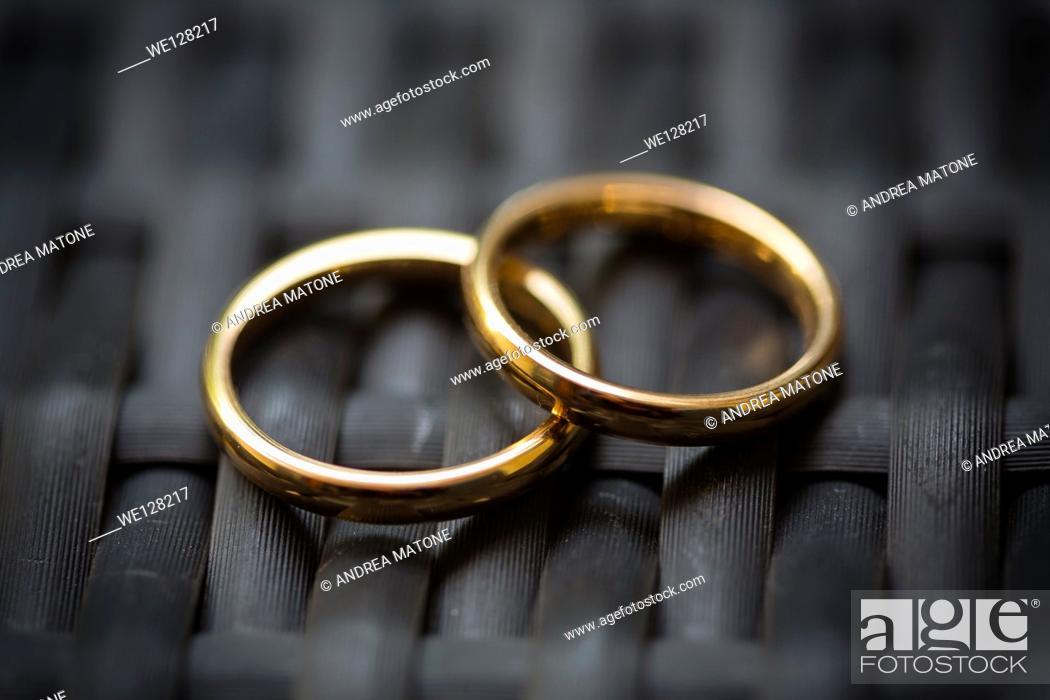 Stock Photo: Wedding ring, close-up.