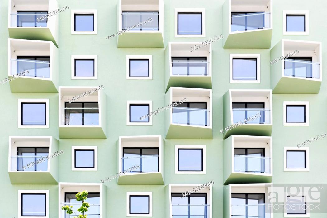 Photo de stock: Modern architecture, ™restad, Amager Island, Copenhagen, Denmark,.